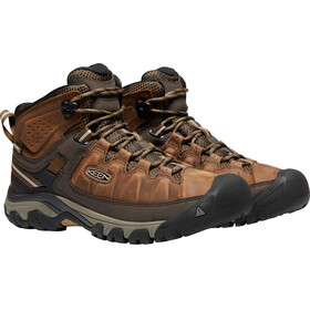 Keen Targhee III Mid WP Miehet kengät , ruskea